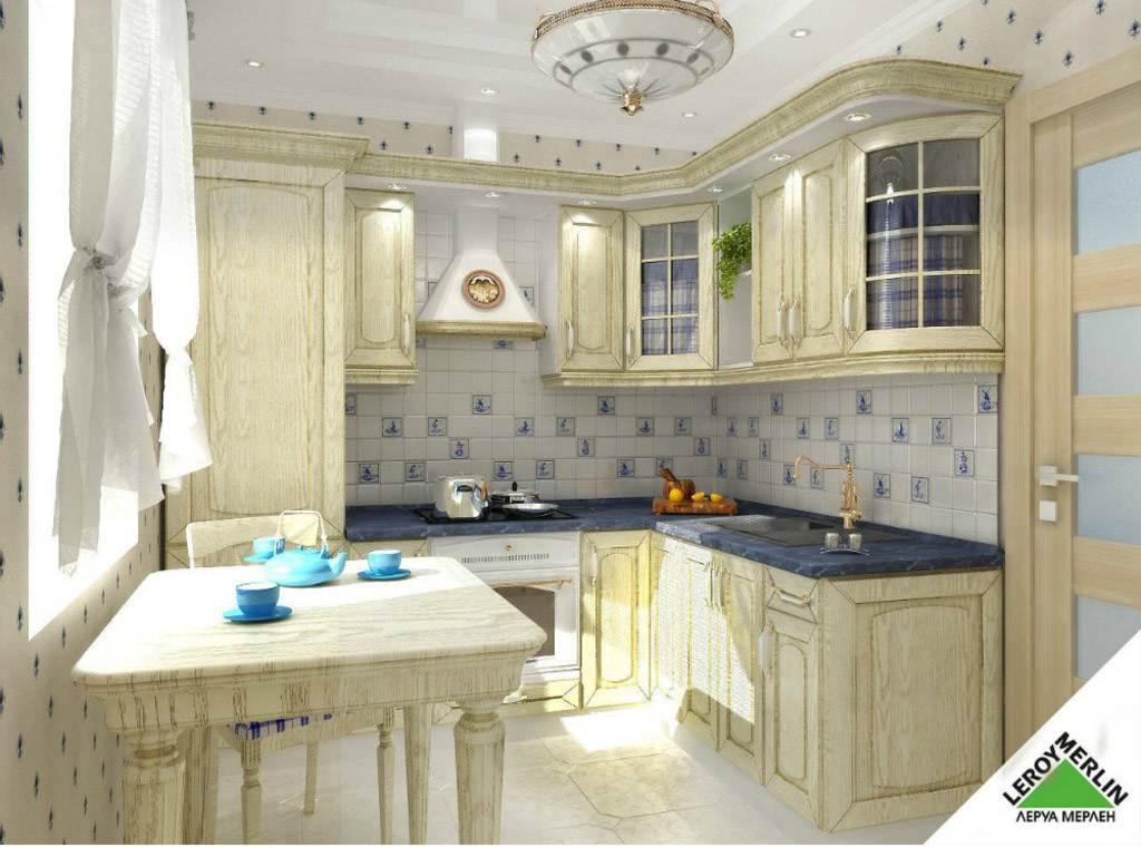 Кухня прованс леруа мерлен фото