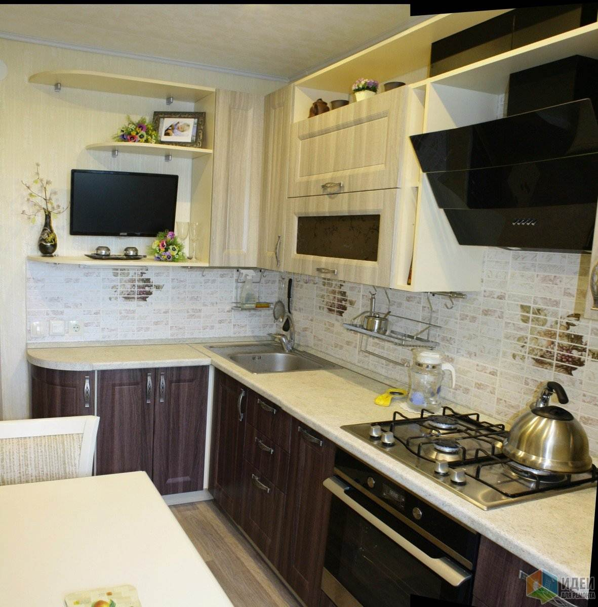 Фото ремонта кухни 10 кв