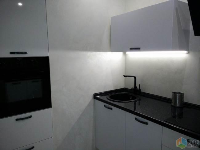 Подсветка для столешницы кухни