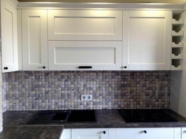 Дизайн белой кухни 8 кв м в стиле современной классики