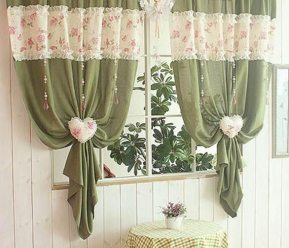 Дизайн шторы для кухни своими руками фото