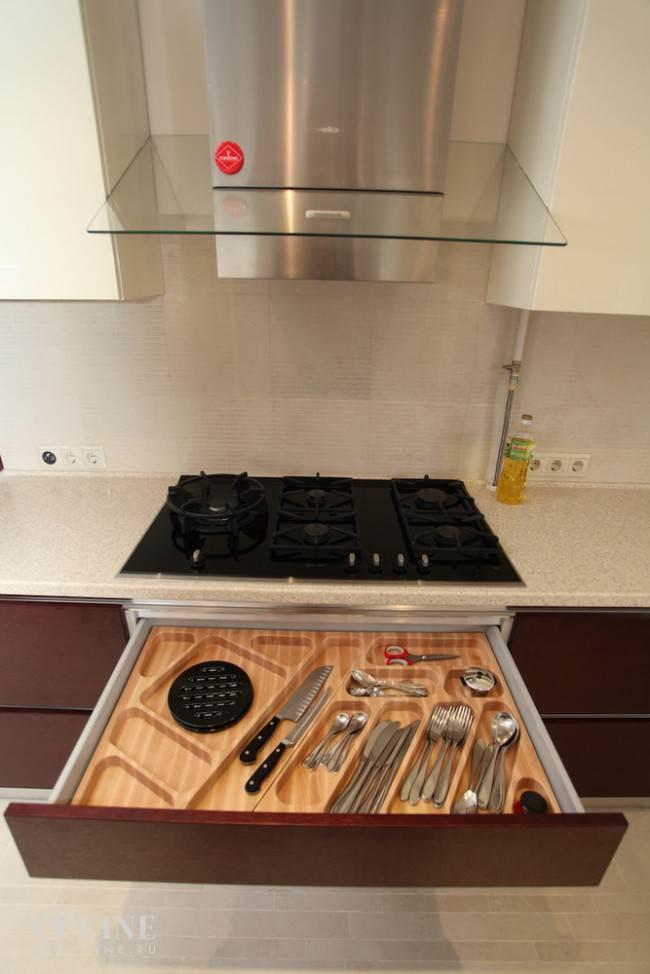 П-образная итальянская кухня Tomassi Cucine на Новорижском шоссе