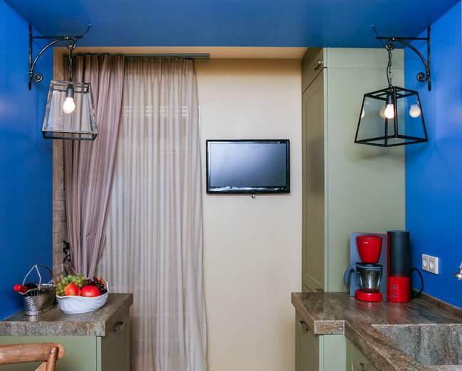 Кухня 10 кв м в испанском стиле. Дизайн из «Квартирного вопроса»