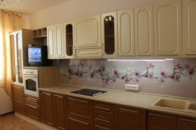 Классическая кухня с фасадами из МДФ