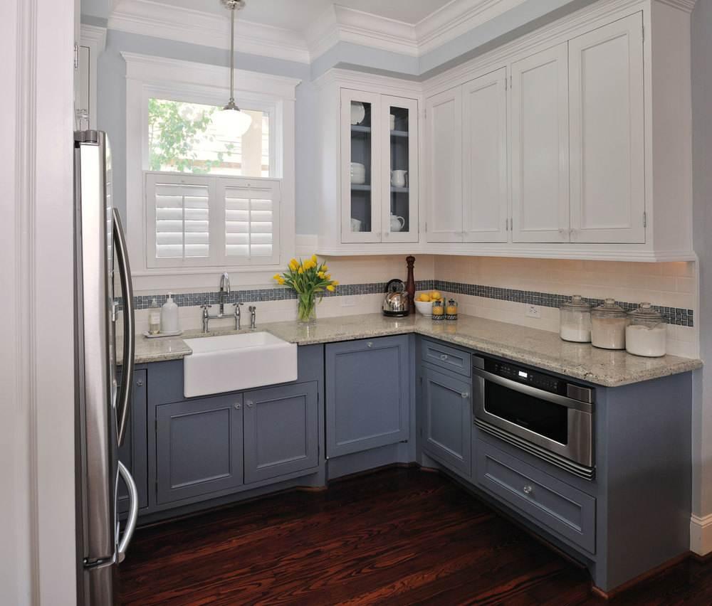 100 лучших идей для дизайна маленькой кухни: красивый и