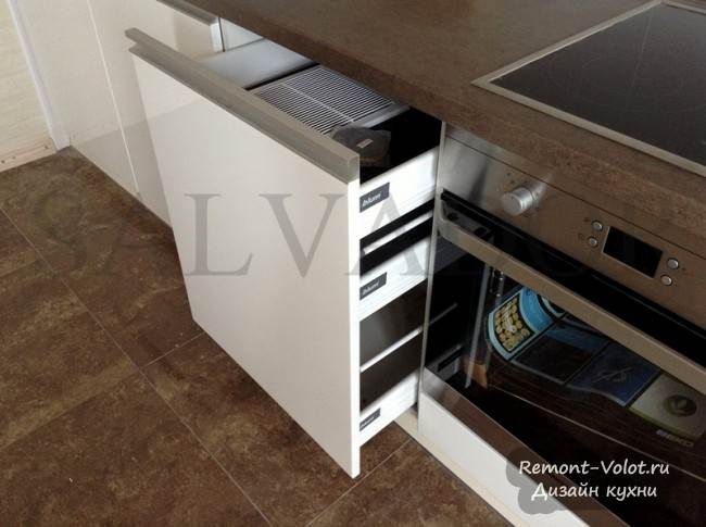Дизайн белой кухни из МДФ за 2000$ в Минске