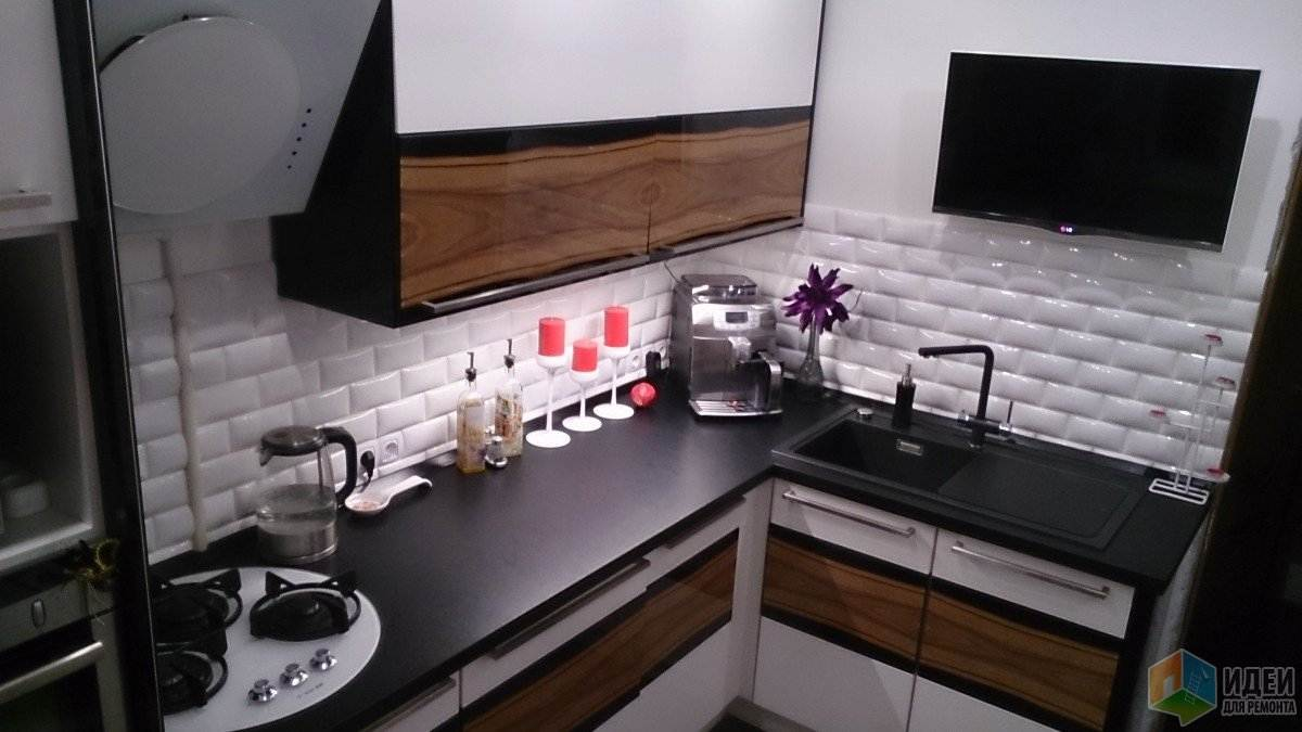 Дизайн кухни небольшого размера фото