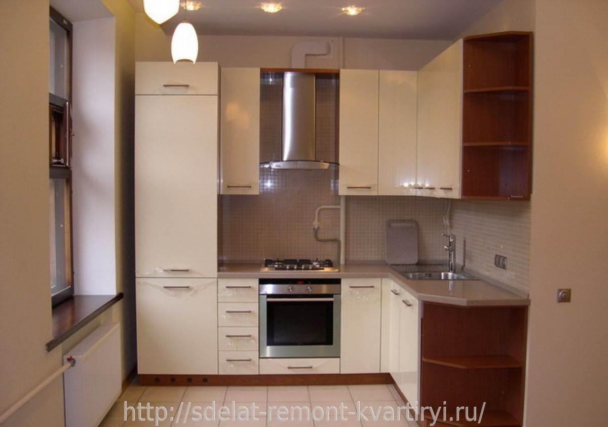 Дизайн маленькой кухни в квартире фото