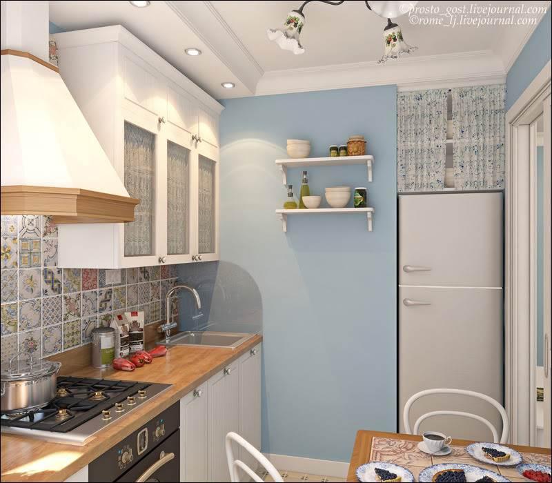 Фото дизайн 1 комнатной хрущевки кухня