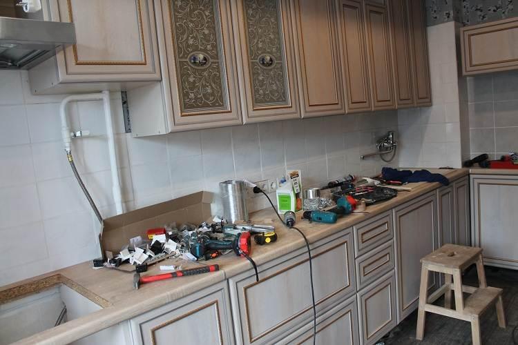 Фото дизайна маленькой кухни 6 квм - примеры