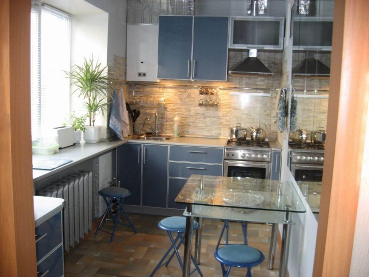 Дизайнмаленькой кухни для различных планировок