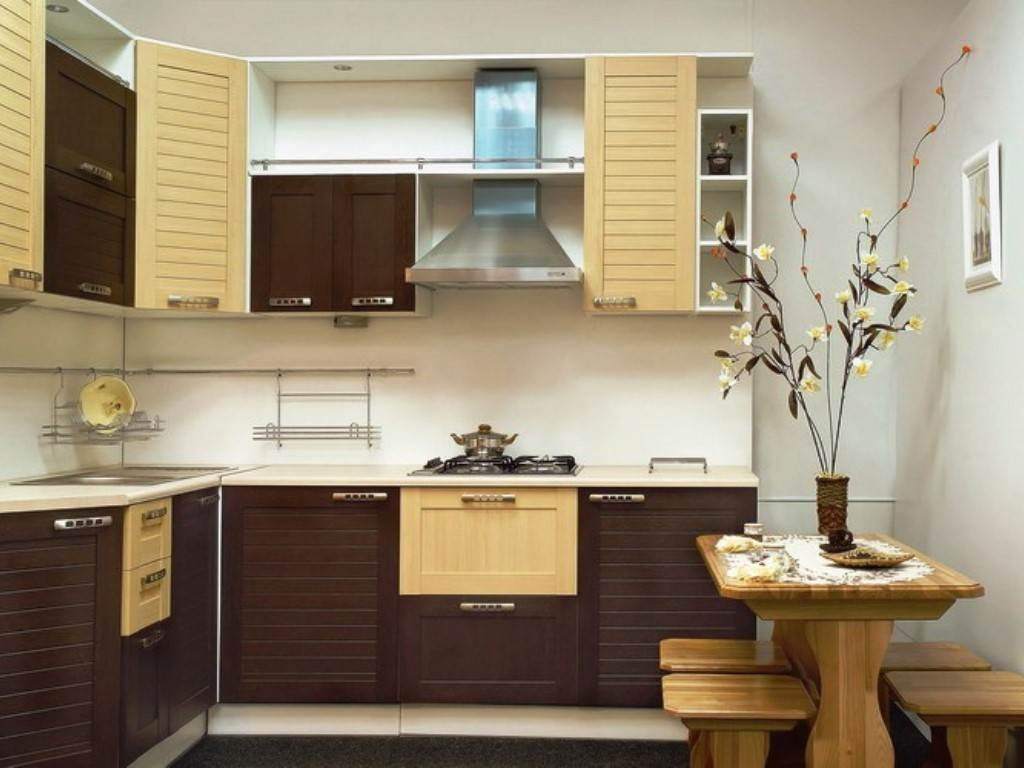 Дизайны маленькой кухни фото