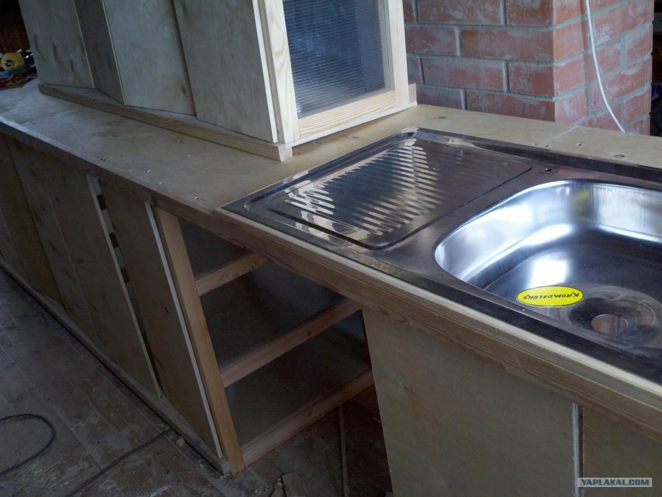 Изготовление простой кухни своими руками 87