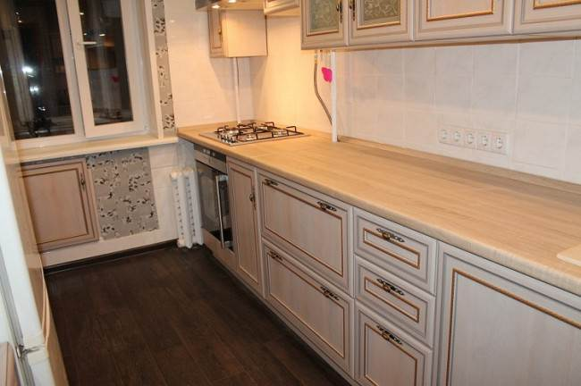 Угловая кухня Столплит на площади 8 кв.м. Дизайн и хранение (60 фото)