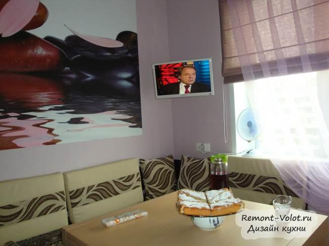 """Бежевая кухня """"Идея в интерьере"""" в Красноярске. Отзыв"""