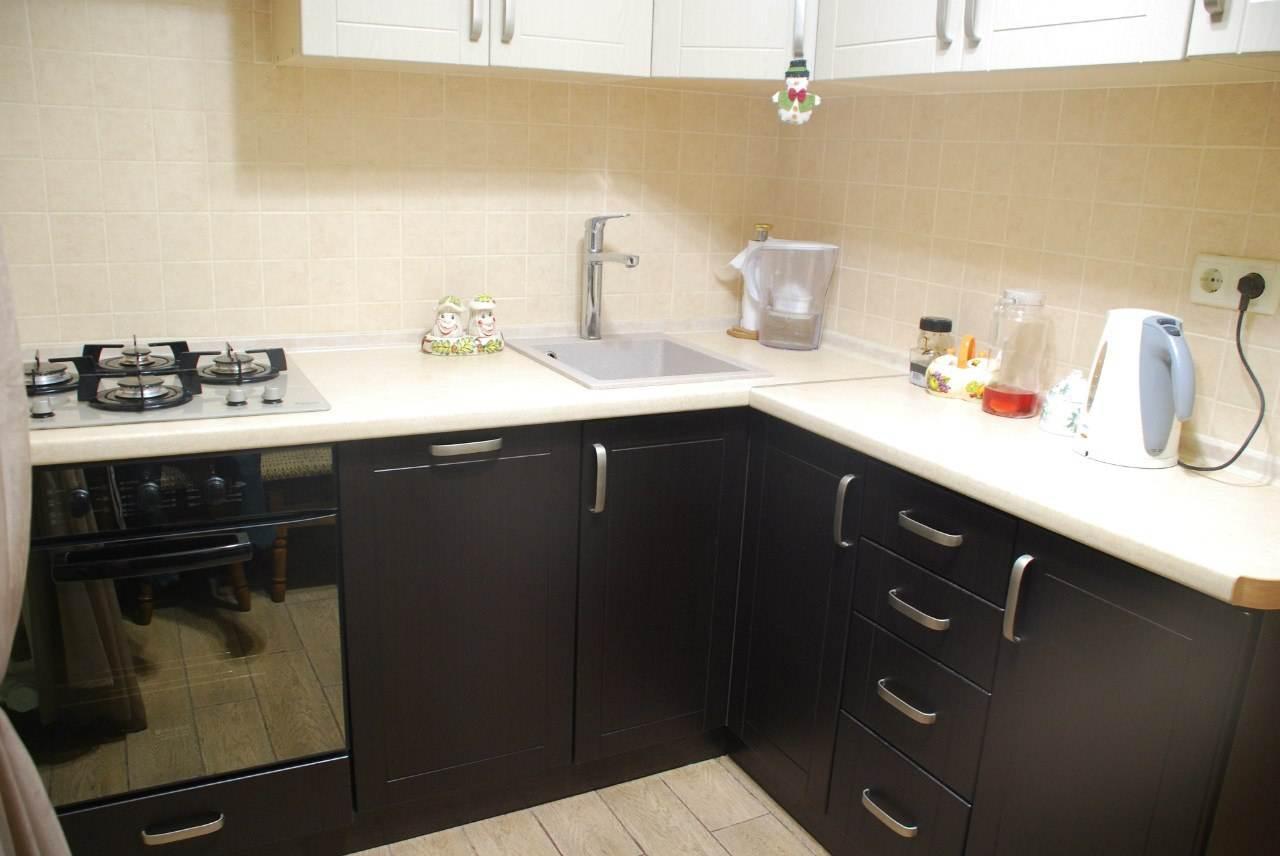малогабаритные прямые кухни дизайн фото