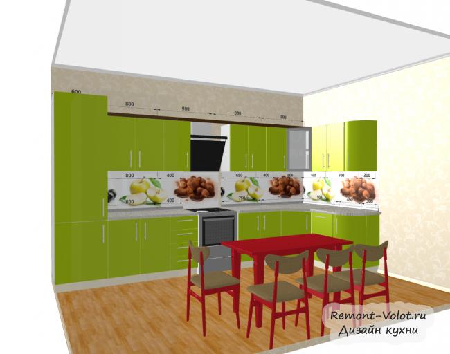 Дизайн кухни 5 кв м с газовой колонкой фото