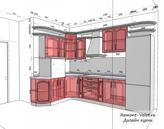 Инструкция, как спроектировать кухню в программе Prodboard