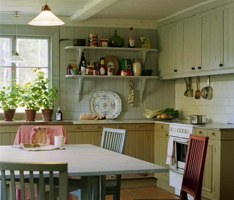 Дизайн кухни кантри стиль фото