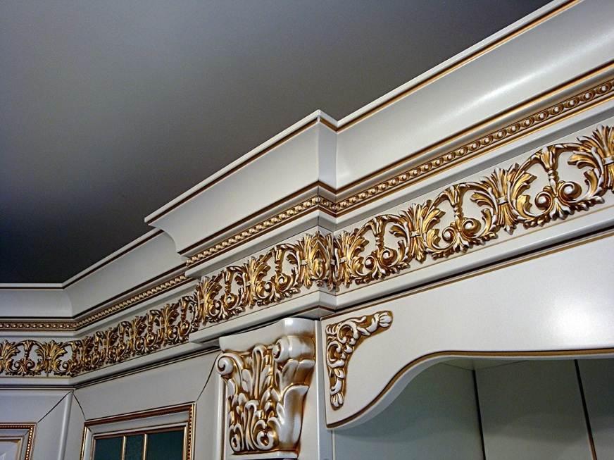 Дизайн классической угловой кухни фото
