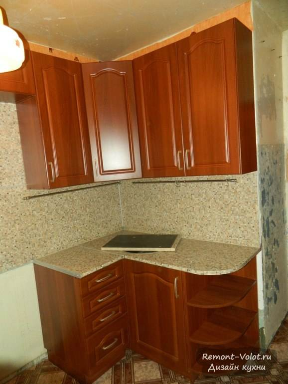 Отзыв о кухне 5,6 кв м Регина