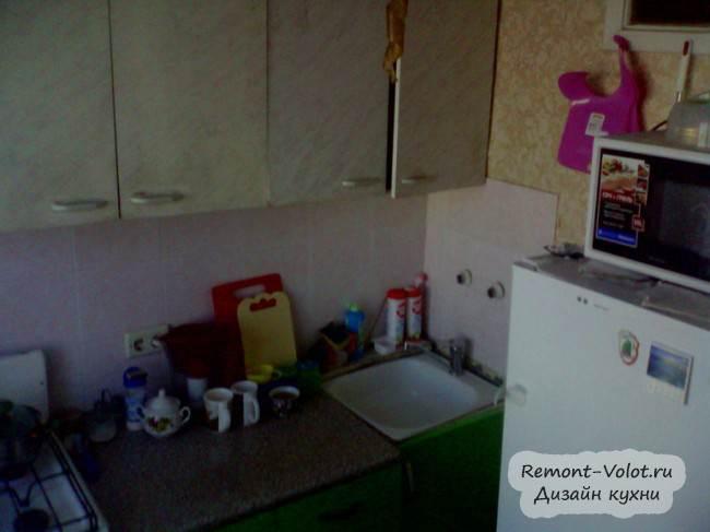 Белая кухня в хрущевке в Ижевске. Отзыв + цена (10 фото)