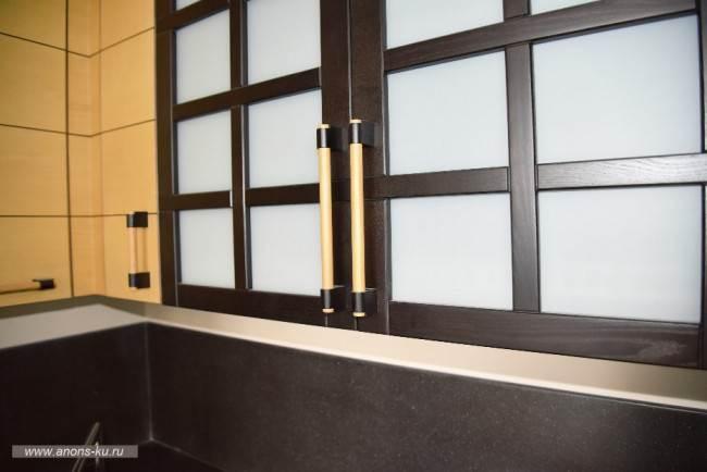 Дизайн угловой кухни в японском стиле в Москве (12 фото). Отчет производителя