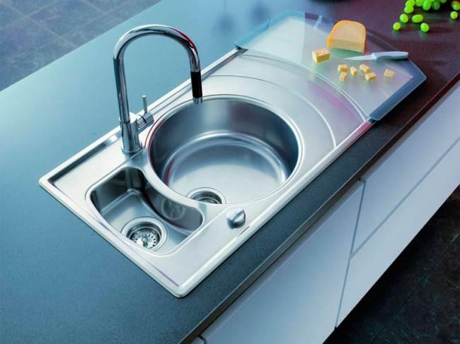 Wasch- oder Spülbecken Größe Küche