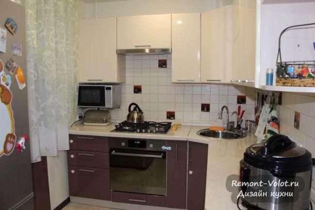 фото реальных кухонь в хрущевке