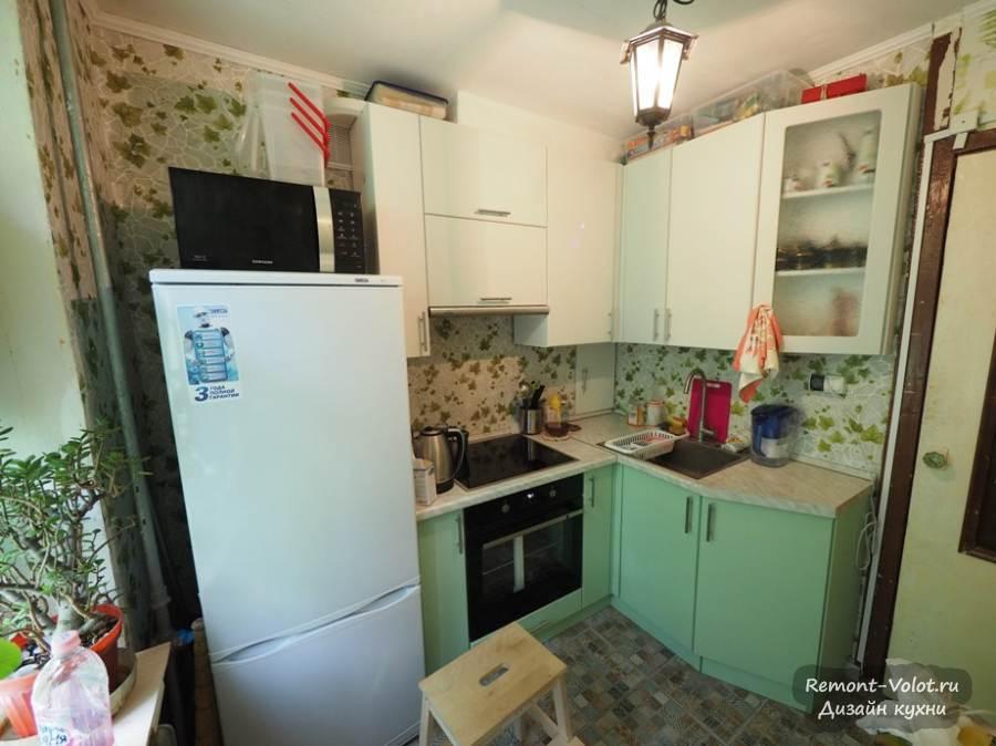 Ремонт кухни 5 кв.м фото в хрущевке своими руками