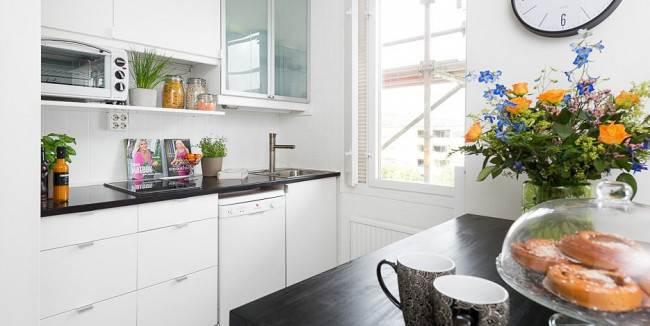 18 идей по оформлению кухни студии 20 кв. м