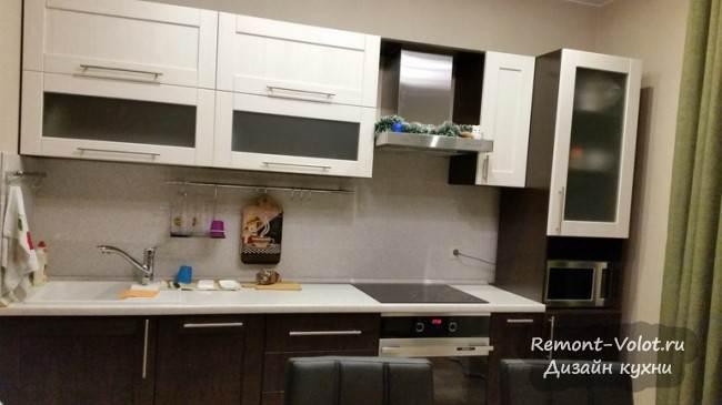Кухня 13 кв м цвета венге в Москве (5 фото + цена)