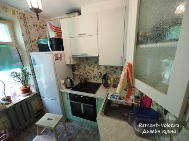 Бюджетная кухня 6 кв м в Москве. Отзыв, фото и цена