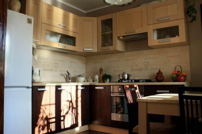 25 идей интерьера кухни 9 кв. м в современном стиле
