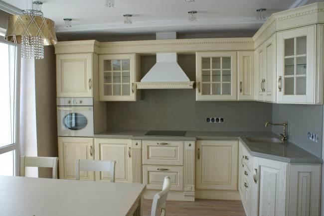 Foto desain dapur elit