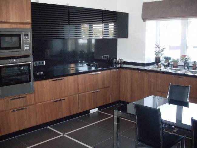 Luxus-Küche-Design Foto