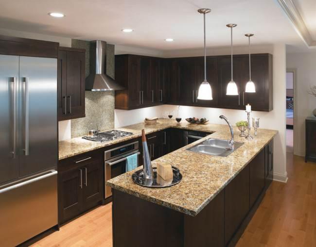 10 вариантов освещения рабочей поверхности на кухне