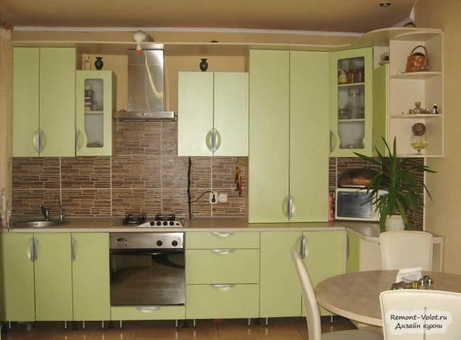 Маленькая кухня 5-6 кв.м с газовой колонкой. 12 вариантов дизайна