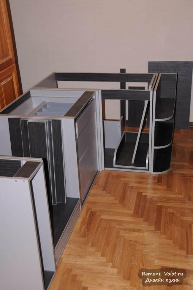 Дизайн кухни 6 кв. м с посудомойкой. Проектирование и сборка своими руками