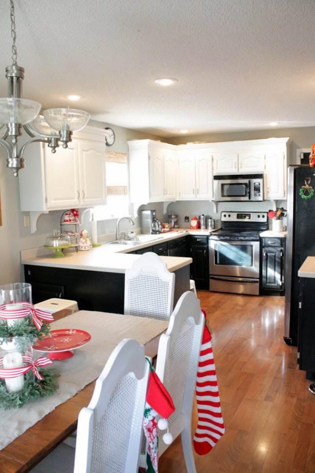 22 идеи оформления кухни-гостиной 20 кв. м