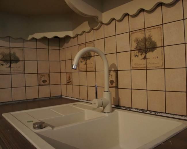 Керамическая плитка в стиле прованс