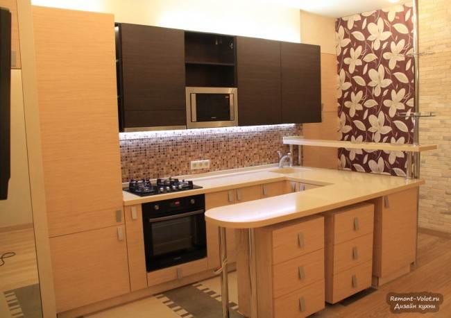 17 вариантов шкафа пенала на кухне