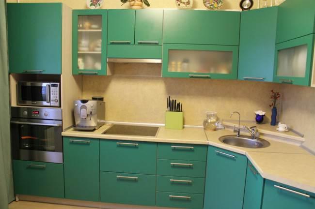 Замыкающий модуль – пенал для духовки и СВЧ