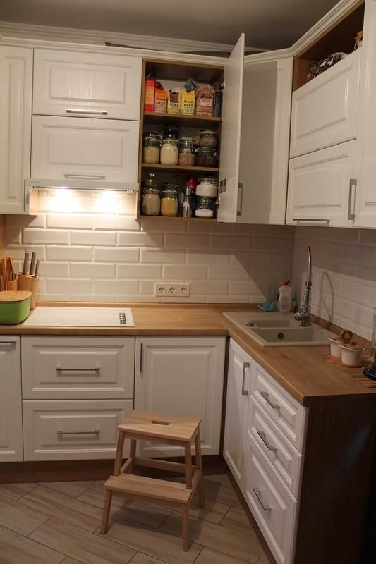 Дизайн кухни 9 кв м угловая