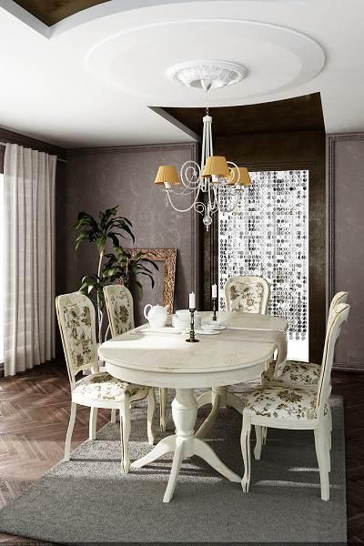 Раскладной кухонный стол Пинскдрев