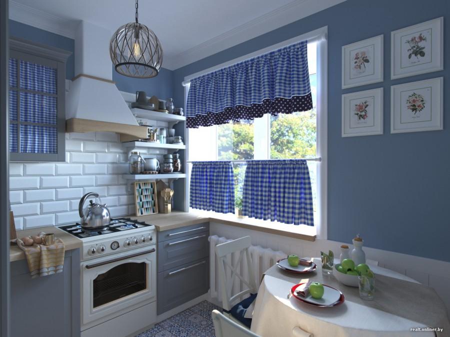 дизайн кухни в хрущевке в стиле прованс 2 стильных проекта