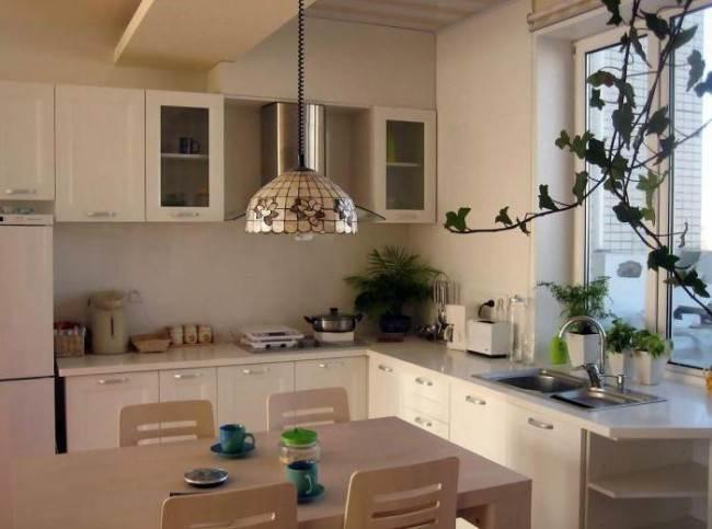 10 идей дизайна кухни с мойкой у окна