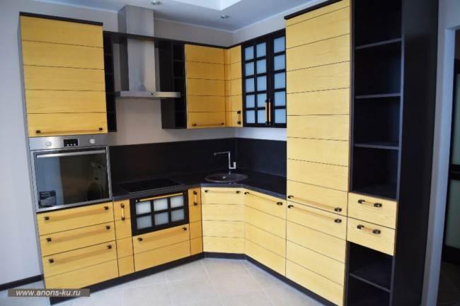 Двухуровневый потолок для кухни из гипсокартона