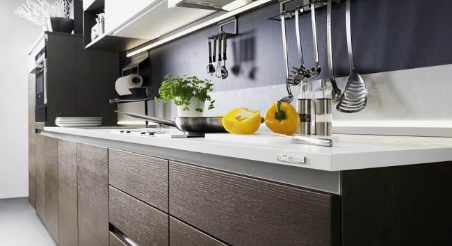 Кухонный гарнитур Nature без ручек (Nolte)