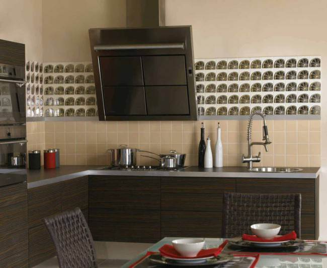 Модули кухни без ручек